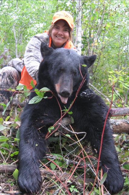 Black Bear Hunting Ontario