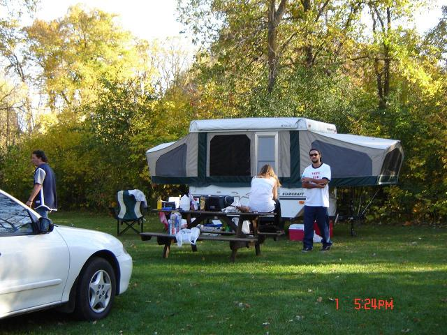 Hook up camping