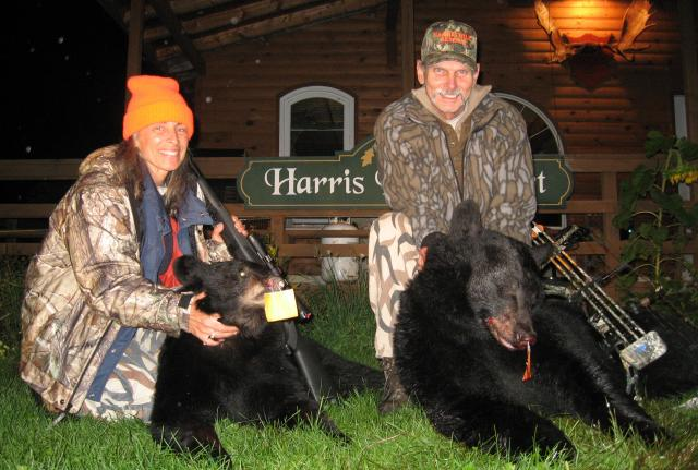 Couples Bear Hunting Ontario