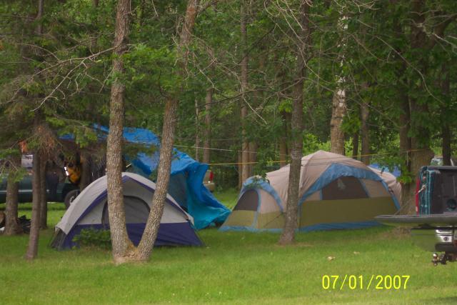 Lakeside tenting is always an affordable favorite, especially for the younger people.: Come out and have some fun and enjoy your privacy in the great outdoors.