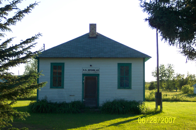 S.S.#2 Spohn One Room Schoolhouse in Harris Hill: Renovated and ready for tours