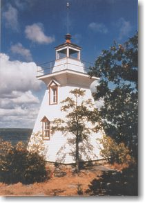 Lighthouse to tour near Morson Ontario: Northwestern Ontario Canada, things to do on a family vacation