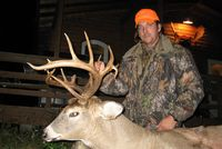 2010 Non-Typical Boone & Crockett: 16 point Non-Typical Whitetail Buck  with a double drop-tine  183 Green Score