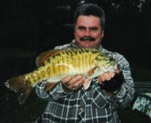 Master Angler 18.75`` Smallmouth Bass: caught on Lake of the Woods