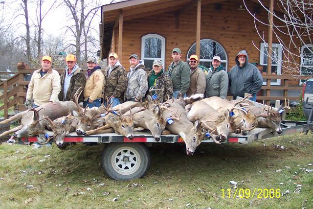 Carey S Whitetail Deer Hunting Group 2006 Harris Hill Resort